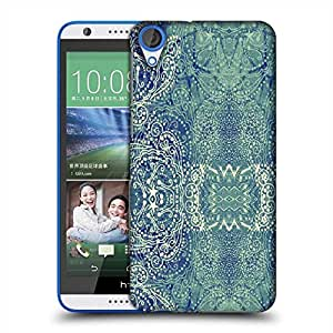 Snoogg Paisley formation Designer Protective Back Case Cover For HTC Desire 820