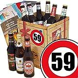 Geschenk Box Bier | Bierbox DDR | Zahl 59 | Geburtstags Geschenk Vati