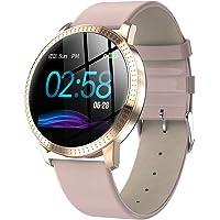 HQHOME Fitness-Tracker Touchscreen SmartWatch Fitness Armband IP67 wasserdichte Uhr mit Herzfrequenzmesser Schrittzähler…