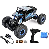 The Flyers Bay Rock Crawler 1:18 Scale 4Wd Rally Car - The Mean Machine, Blue