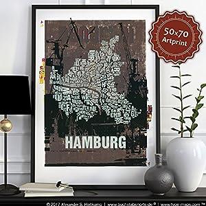 Hamburg Buchstabenort Hafen 2015