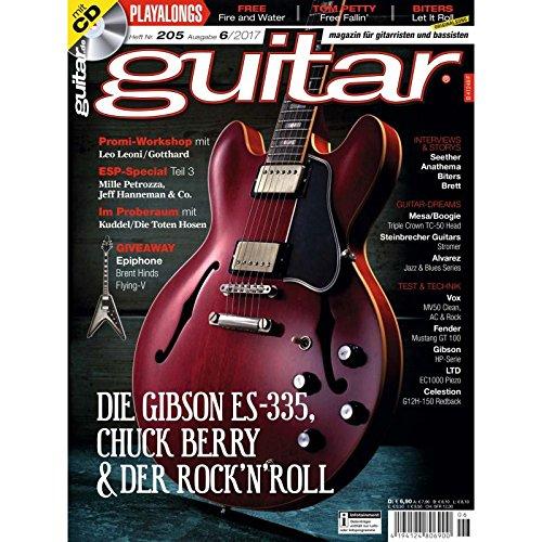 Gibson ES-335 Chuck Berry & Rock`n`Roll - guitar Magazin mit Play along CD - Interviews - Workshops - Gitarre Playalongs - Gitarre Test und Technik
