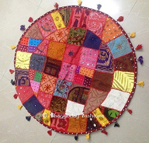 etnico-indio-clasico-de-trabajo-thaikissen-puff-taburete-taburete-silla-de-rwe-bohemia-bordados-de-t
