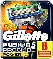 Gillette Fusion5 Proglide Power Rakblad för Män