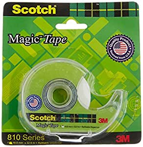 Scotch Magic Tape Dispenser, 19 mm x 32.9 m