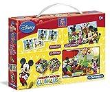 Clementoni - Mini edukit, la casa de Mickey Mouse (13792.3)