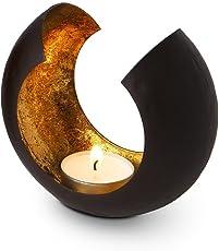 Designerobjekt Teelicht Sakrale Klein - Ruhe und strahlend goldenes Licht