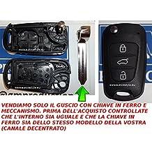 G.M. Production–Kia F22–Carcasa para llave con mando a distancia para modelo Kia Rio Soul Venga Sportage Ceed. Comprobar las fotos y detalles de compatibilidad.