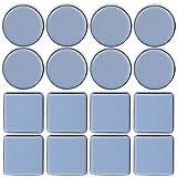 TheStriven 16 piezas Deslizadores de Muebles Almohadillas para Mover Muebles Protectores de Piso die Deslizadores Patín Desli