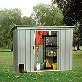 YARDMASTER Abri de jardin en métal 2.36m²