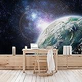 Apalis Vliestapete Galaxy Light Fototapete Breit | Vlies Tapete Wandtapete Wandbild Foto 3D Fototapete für Schlafzimmer Wohnzimmer Küche | mehrfarbig, 94652