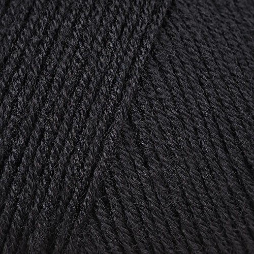 Merino 400 Lace 0004 schwarz -