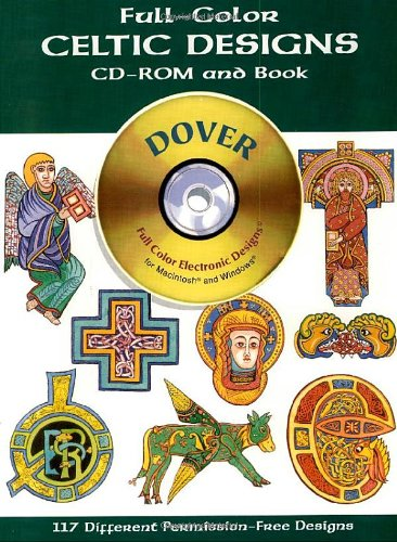Full-color Celtic Designs (Dover Electronic Clip Art)