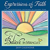 2019 Expressions of Faith the Inspirational Artwork of Joanne Fink Mini Calendar: By Sellers Publishing