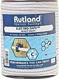 Rutland 19-151R Elektrozaunband, 200m, weiß