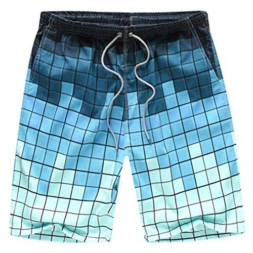 O-C Mens'beach shorts youth summer beach pants XX-Large (Mens Hawaiian Boardshorts)
