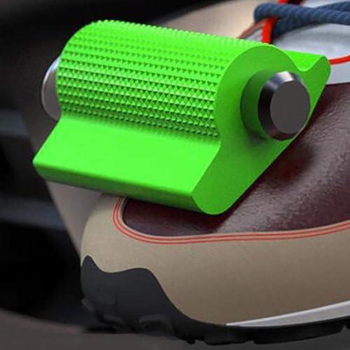 A/B Manicotto Protettivo per Leva del Cambio per Moto, Copri-Cambio per Moto Protettivo Antiscivolo, Copri-Leva del Cambio per Moto Protezioni per Scarpe in Gomma per Stivali