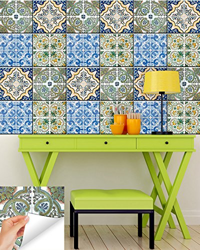backsplash-peel-and-stick-pegatinas-decorativas-para-azulejos-24-pc-set-6-x-4-autentico-tradicional-
