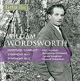 William Wordsworth Symphony No.1 in F minor Op.23 & Symphony No.5 in A minor Op.68