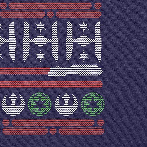 TEXLAB - Knitted Wars - Damen T-Shirt Navy