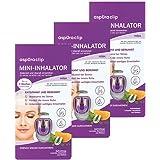 aspUraclip Mini-Inhalator relax (3er Pack)   Erster Mini-Inhalator für die Nase   Mit 100% Bio-Ölen aus Lavendel, Mandarine und Melisse   Wohltuend bei Stress und innerer Unruhe