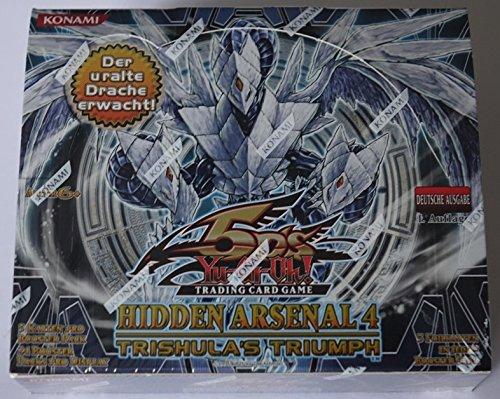 Yu-Gi-Oh! Hidden Arsenal 4 - Display mit 24 Booster - deutsch