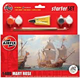Airfix 1:400 Scale Mary Rose Starter Gift Set