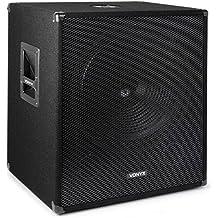 Skytec 170754 PA - Subwoofer bass reflex, 45 cm, max. 1000 Watt, 15-500 Hz, 8 Ohm