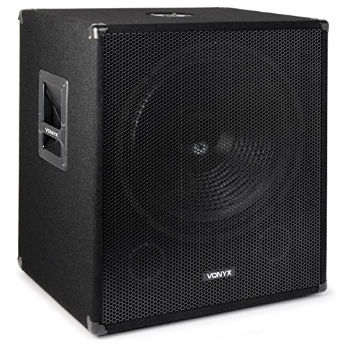 300 Subwoofer (Skytec Professionelle Bassbox 300 W 38cm Subwoofer Tiefpass-Filter)