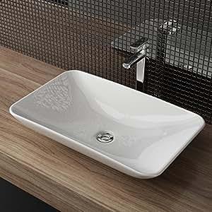 waschbecken24 design keramik aufsatzwaschbecken waschtisch waschschale waschplatz f r badezimmer. Black Bedroom Furniture Sets. Home Design Ideas