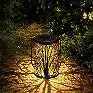 مصابيح مضيئة بالطاقة الشمسية من إينفيتو، مصابيح الطاقة الشمسية في الهواء الطلق ومقاومة للماء من الزجاج على شكل