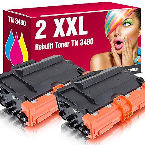 Preisvergleich Produktbild Kompatible Toner TN-3480 für Brother DCP-L5500DN DCP-L6600DW HL-L5000D HL-L5100DN HL-L5100DNT HL-L5100DNTT HL-L5100 HL-L5200DW HL-L5200DWT HL-L5200 HL-L6250DN HL-L6300DW HL-L6300DWT HL-L6300 HL-L6400DW HL-L6400DWT HL-L6400DWTT HL-L6400 MFC-L5700DN MFC-L5700 MFC-L5750DW MFC-L6800DW MFC-L6800DWT MFC-L6800 MFC-L6900DW MFC-L6900DWT MFC-L6900 ms-point® (2er Sparset)