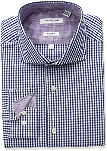 isaac-mizrahi-mens-slim-fit-end-on-end-cut-away-collar-dress-shirt-fuchsia-175-neck-34-35-sleeve