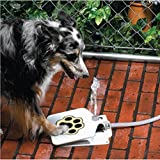 Meiying Durable Outdoor Doggie Water Fountain Step-on Fresh Cold Drinking