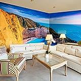 murando - Eckfototapete 550x250 cm - Vlies Tapete - Moderne Wanddeko - Design Tapete - Wandtapete - Wand Dekoration - Landschaft Natur c-A-0058-a-d
