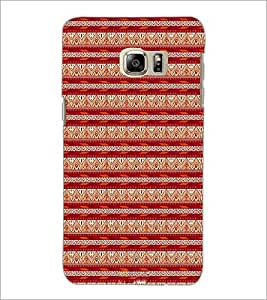 PrintDhaba Tribal pattern D-1984 Back Case Cover for SAMSUNG GALAXY NOTE 5 (Multi-Coloured)
