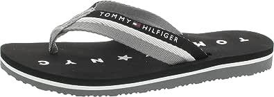 Tommy Hilfiger Damen Tommy Loves Ny Beach Sandal Zehentrenner