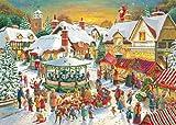 Ravensburger 15536 - Weihnachtsmarkt, 1000 Teile Puzzle