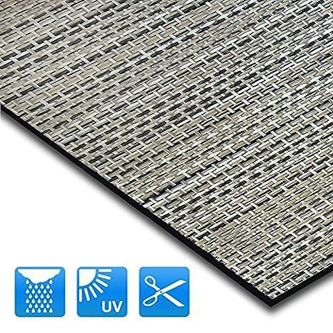 Tapis intérieur extérieur casa pura® résistant, antisalissure, impermeable et antidérapant