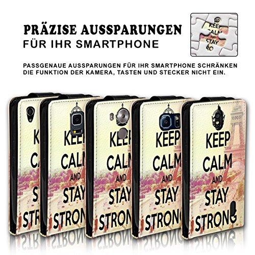 Vertikal Flip Style Handy Tasche Case Schutz Hülle Schale Motiv Etui Karte Halter für Apple iPhone 5 / 5S - Variante VER31 Design1 Design 3
