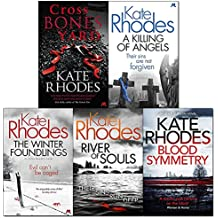 kate rhodes alice quentin collection 5 books set (crossbones yard, a killing of angels, the winter foundlings, river of souls, blood symmetry)