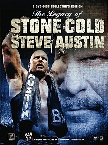 WWE: The Legacy of Stone Cold Steve Austin by Steve Austin (Stone Cold Dvd)