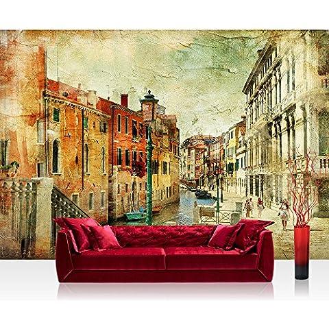 Liwwing FTVLPP-0257-400X280 - Vellón de fondos de escritorios 400x280cm - cima! premium plus fondo de pantalla! murales de papel tapiz mural imagen xxl del papel pintado de la pared wanddeko pared de venecia italia - ningún 257a