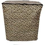 Kuber Industries impermeable y prueba de polvo lavadora cubierta para Semiautomático 6,5kg modelo (lunares)