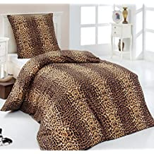 suchergebnis auf f r bettw sche 155x220 leopard. Black Bedroom Furniture Sets. Home Design Ideas