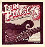 John Pearse 2260L Jeu de cordes pour Mandole Ténor tirant Light Naturel
