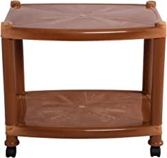 Cello Orchid Center Table (Sandalwood Brown)