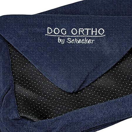 Schecker Dog Ortho 80 x 50 cm Ersatzbezug für orthopaedisches Hundebett Hundekissen Farbe: Mitternachtsblau
