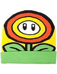 Meroncourt Nintendo Super Mario Bros, Gorro de Punto Unisex Adulto