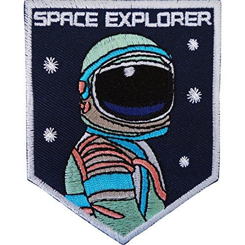 Disfraz astronauta parche hierro sobre/para coser